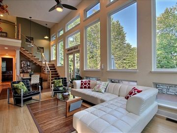 Hocking Hills house rental - Beautiful views from all windows. Surrounded by 50 plus acres of nature!