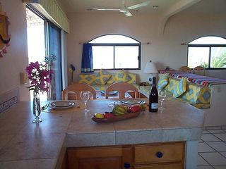 Todos Santos house photo - Living Area from Kitchen