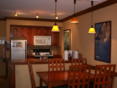Snowshoe Mountain condo rental - Kitchen