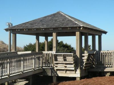 A Gazebo with Ocean Front Views for everyone's enjoyment!