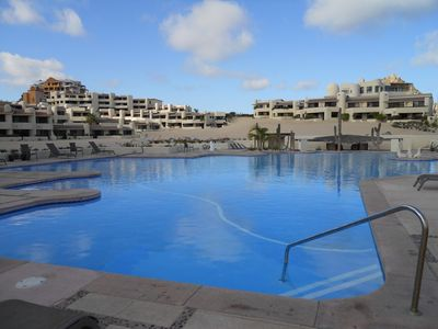 Enjoy the surroundings and tranquility at the ocean front pool