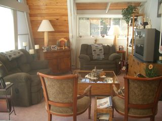 Ruidoso chalet photo - Comfortable Living Area