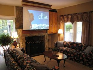 Mountain Lodge Realty Beech Mtn Lodge - 7 foot Media Screen with Wii System