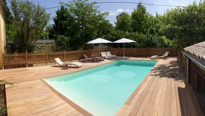 Charming gite near Bordeaux, for 8 people, with private pool, quiet