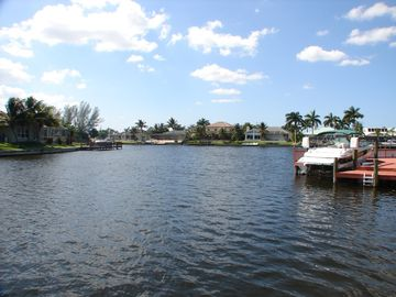 Tropical waterways for boating or fishing