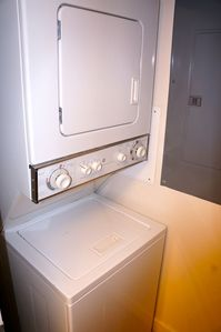 Washer and dryer in the condo for your convenience.