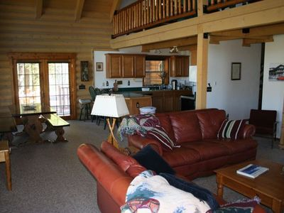 East Glacier Park house rental - Living room