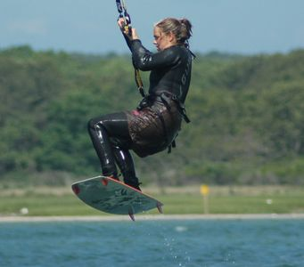 Kite Boarding/Sengenkontacket Pond
