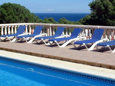 Begur house rental - At the pool