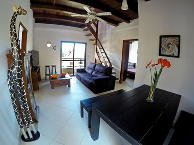 duplex penthouse - EXCELLENT LOCATION there is 100m from the beach - Tenorio / Big Beach