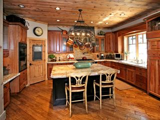 Sundance cabin photo - Gourmet kitchen with marble counter tops