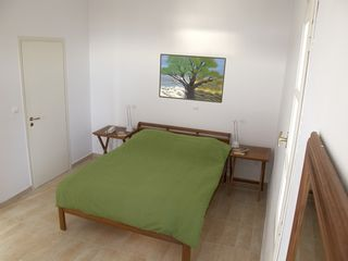Andros villa photo - Lower level bedroom