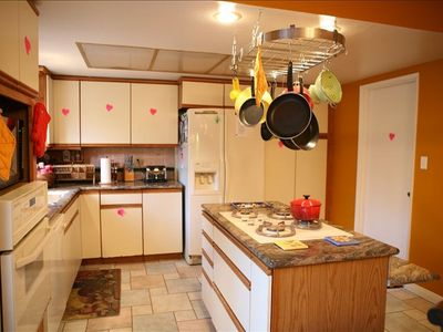 Kitchen has Everything you need for Cooking
