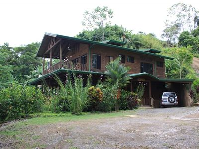 Uvita house rental - Villa Kristina Maria, a relaxing tropical retreat in the rainforest.