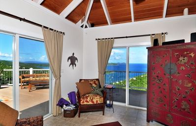 Coral Bay villa rental - Great views from any seat in the house