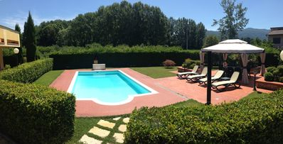 Luxury villa with private pool, close to historic centre of Lucca