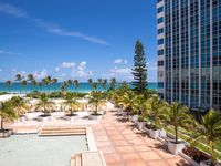 Fantastic 2BR/2BA Suite with Balcony for 6, Oceanfront building in Miami Beach
