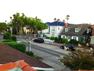 Balboa Peninsula house photo - View of the street in front of the house