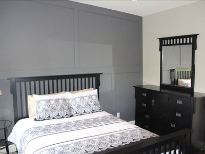 4 spacious bedrooms with queen sized beds.