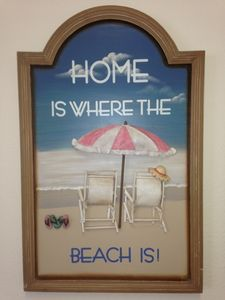 This sign says it all!  Come on down to Destin!