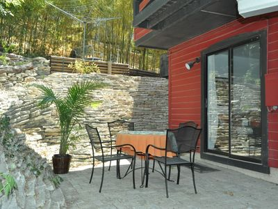 Austin apartment rental - Back patio!
