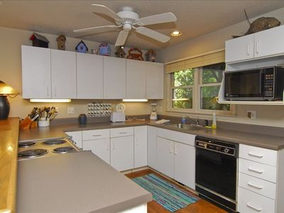 Brevard house rental - Gourmet kitchen completely equipped, and is open to the living room