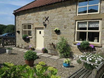 The Mistal, 2 bedroomed former dairy conversion, sleep 4.