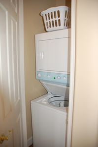 Main floor laundry washer + dryer