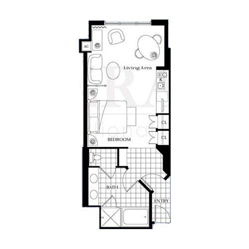 Studio Floor Plan