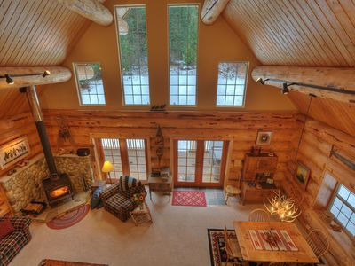 Great room from the loft