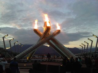 Vancouver condo photo - Olympic Flame at Vancouver Convention Centre only a 5 minute walk away