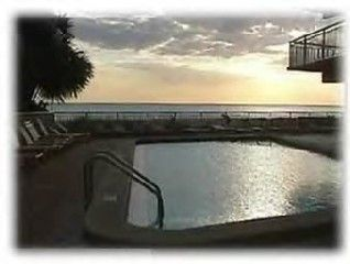 Large heated beachside pool