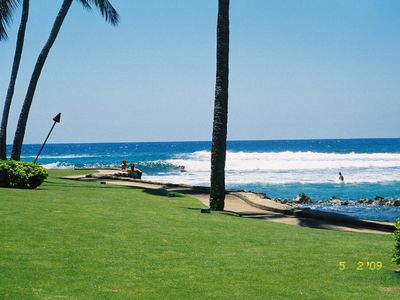 Poipu studio rental - This is the beach, right across the street