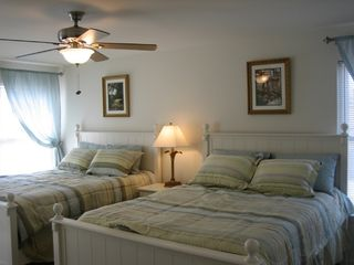 Wildwood condo photo - The Master bedroom with two queen size beds
