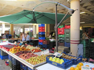 Weekly market in El Campello