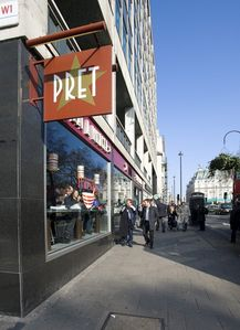 Pret a Manger - 50 meters away