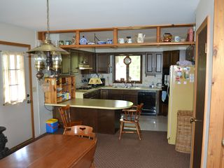 Cheboygan house photo - Dining Room and Kitchen.