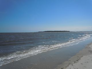 Harbor Island house photo - The beach with view of Hunting Island