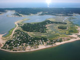 Wellfleet house photo - Aerial view of Lieutenant Island