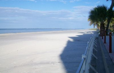 Wide Sugar Sand Beach & the Gulf of Mexico seen from Balcony at #403