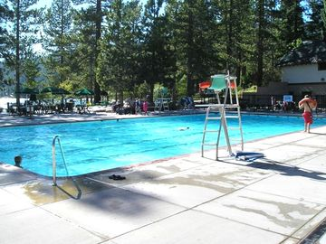 Olympic Swimming Pool at Private Burnt Cedar Beach