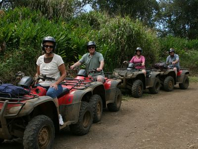 Ride The Rim - a fun trip with beautiful views of the Waipio Valley.