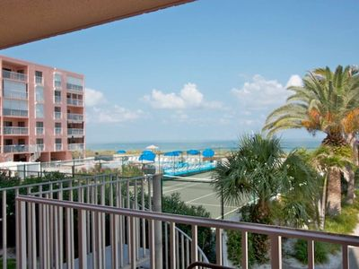 beachfront condo has everything you want in an Indian Rocks Beach/Clearwater vacation destination. The Reef Club has direct access to the beautiful wh