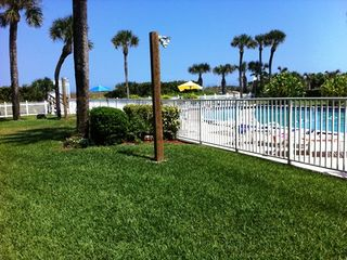 Cocoa Beach condo photo - Side View of Gated Pool