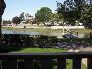East Norwalk house photo - View from Porch Toward Dock