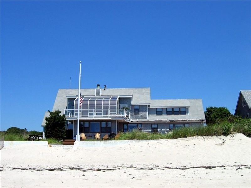 Oceanfront 6br Cape Cod Home With Private Beach Vrbo