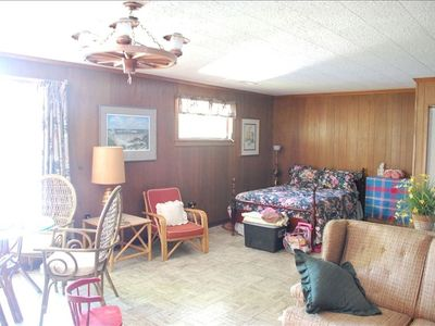 Lake Nantahala house rental - Great Room upstairs with double bed