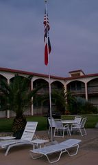 Corpus Christi condo photo - Surfside courtyard