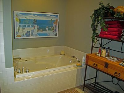 Master Bath with Jacuzzi