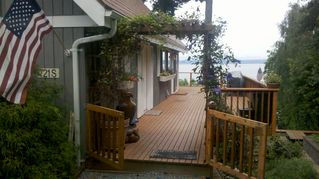 Camano Island house photo - Hot Tub with a View